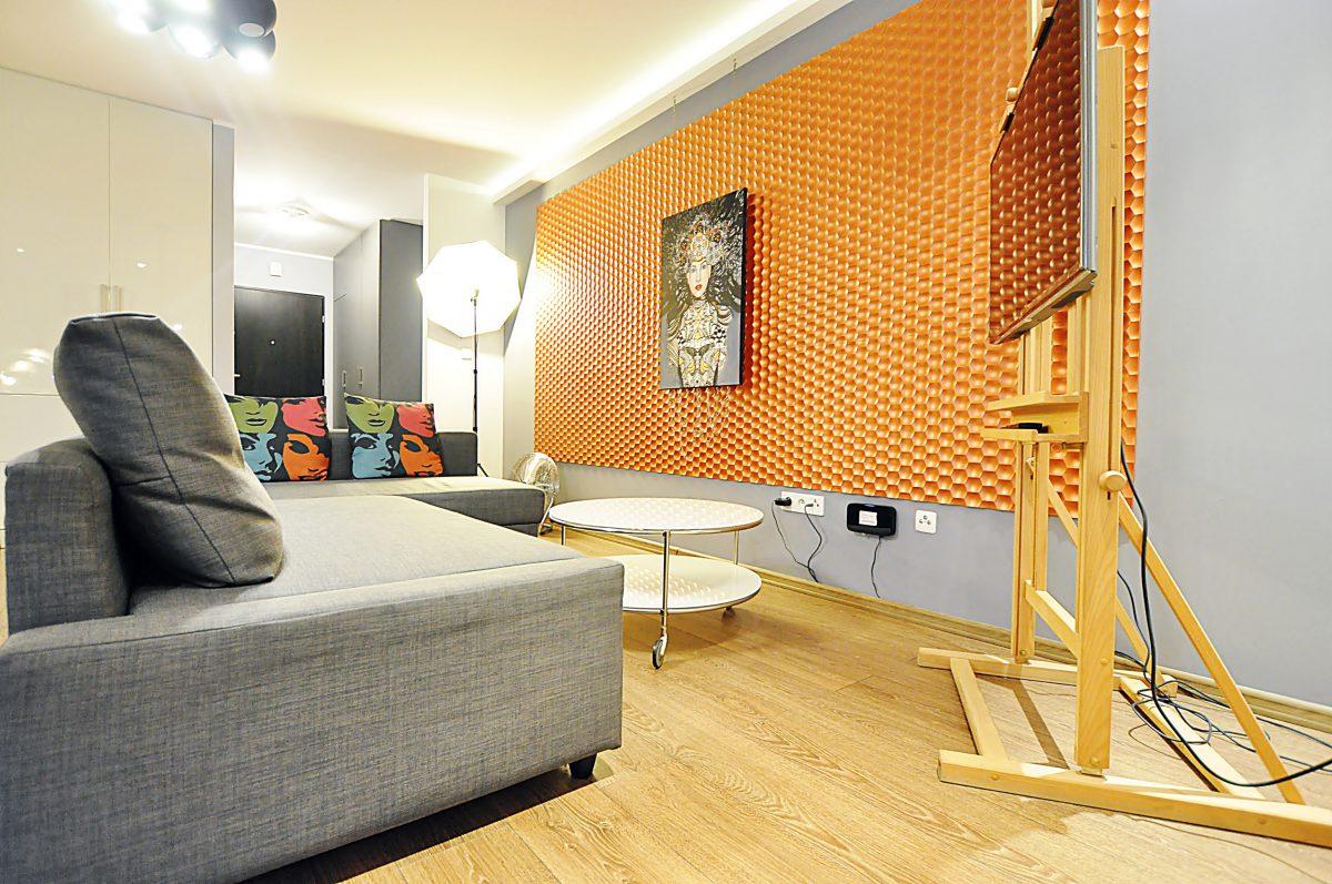 Apartament ELEKTRA   W Stylu Studia Artystycznego W Krakowie